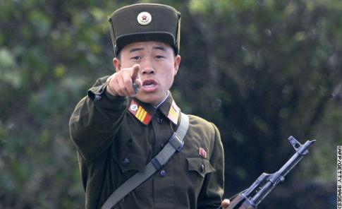 Yeah, he's North Korean, but I bet he doesn't like giving out maps either.