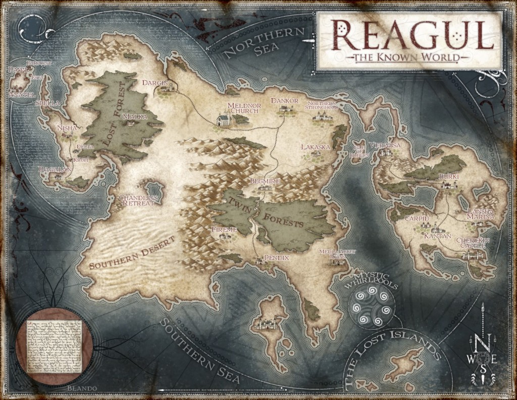 Reagul Map (Large)